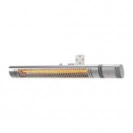Shadow II 2kW ULG+ Patio Heater Silver with Remote Control - FP792