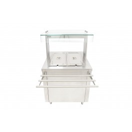 --- PARRY FLEXI-SERVE FS-HB2 --- Hot Cupboard with Dry Bain Marie Top