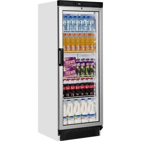 Tefcold FS1280B Upright Glass Door Refrigerated Merchandiser