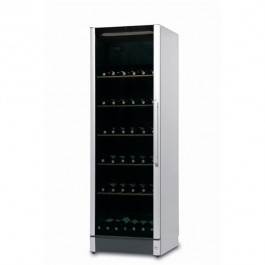 Vestfrost FZ365W-SILVER Upright Glass Door Wine Cabinet with a Dual Zones