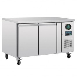 Polar G599 2 Door Prep Counter Freezer