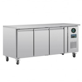 Polar G600 U-Series Three Door GN 1/1 Counter Freezer - 417 Litres