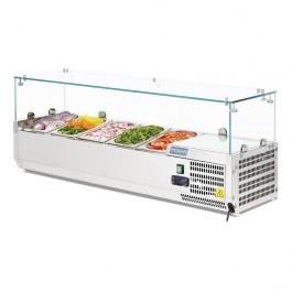 Polar G608 Refrigerated Countertop Prep Servery