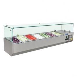 Polar G609 Refrigerated Countertop Prep Servery