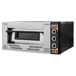 Prismafood GAS 9 Single Deck Natural or LPG Gas Pizza Oven