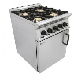 Parry GB4 Gas Oven with 4 Burner Range