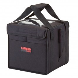 Cambro GoBag GBD101011110 - Small Folding Food Delivery Bag