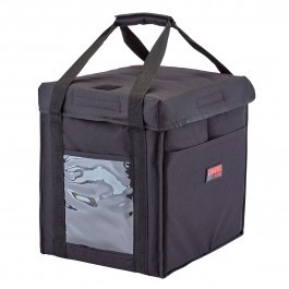 Cambro GoBag GBD121515110 - Medium Folding Food Delivery Bag