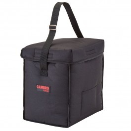 Cambro GoBag GBD13913110 - Small Top Loading Food Delivery Bag