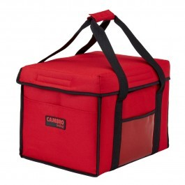 Cambro GoBag GBD151212521 - Red Sandwich Food Delivery Bag