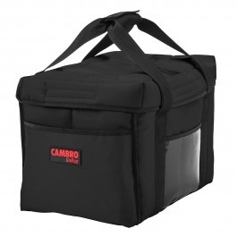 Cambro GoBag GBD1512110 - Black Sandwich Food Delivery Bag