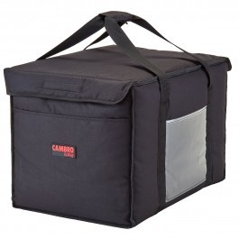 Cambro GoBag GBD211414110 - Large Top Loading Food Delivery Bag