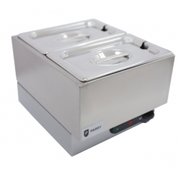 Parry GBM2W Electric Wet Heat Bain Marie with 2 x 1/4 GN Pans