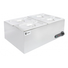 Parry GBM4 Electric Dry Heat Bain Marie with 4 x 1/4 G Pans