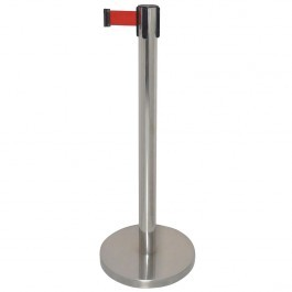 Bolero GG723 Polished Barrier with Red Strap 3 Metres (Default)