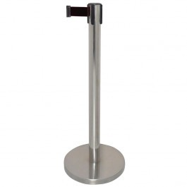 Bolero GG724 Polished Barrier with Black Strap 3 Metres