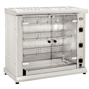 Roller Grill RBE120Q Electric Infrared Rotisserie with Three Spits