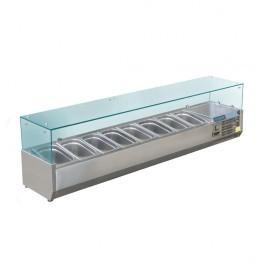 Polar GD877 Refrigerated Countertop Prep Servery
