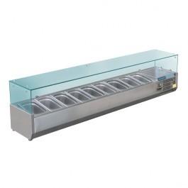 Polar GD878 Refrigerated Countertop Prep Servery