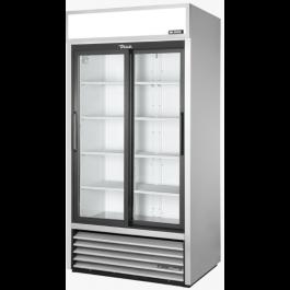 True GDM-33-HC-LD Hinged Glass Door Merchandiser with Colour Options