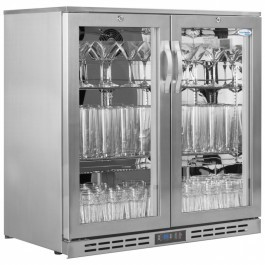 Interlevin GF20H SS Glass Froster or Sub Zero Bottle Cooler