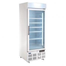 Polar GH506 Glass Door Display Freezer with Light Box