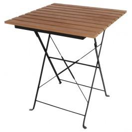 Bolero GJ765 Steel Frame and Faux Wood Top Folding Table 600mm