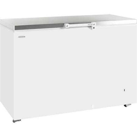 Tefcold GM400SS Stainless Steel Lid Chest Freezer