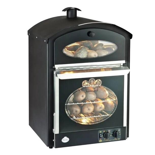 King Edward BKM-BLK Black Bake King Mini Potato Oven