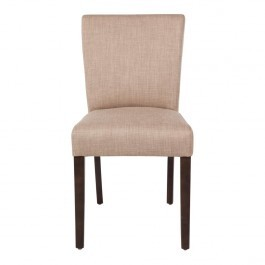 Bolero GR367 Natural Contemporary Dining Chair - Pack 2