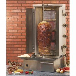 Roller Grill GR80G Gas Kebab Grill with 800mm Spit