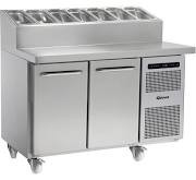 Gram GASTRO K1407 CSG PT DL DR C2 Two Door Refrigerated Prep Cabinet