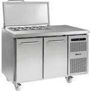 Gram GASTRO K1407 CSG SL DL DR C2 Two Door Refrigerated  Salad Prep Cabinet