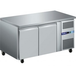 Prodis GRN-C2F GRN Series Stainless Steel Two Door Counter Freezer