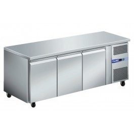 Prodis GRN-C3F GRN Series Stainless Steel Three Door Counter Freezer