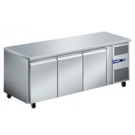 Prodis GRN-C3F GRN Series Stainless Steel Three Door Counter Freezer