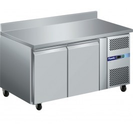 Prodis GRN-W2F GRN Series Stainless Steel Two Door Counter Freezer with Upstand