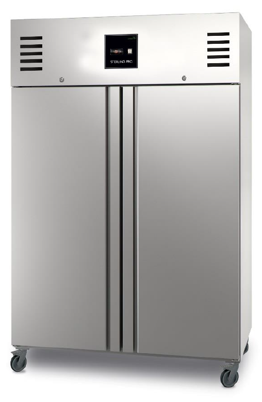 Sterling Pro Green SNI142 Upright Twin Door Gastronorm Freezer - GSNI-142