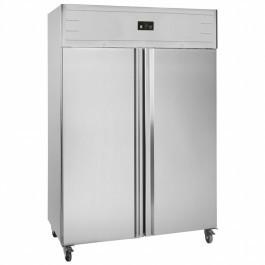 Tefcold GUF140 Twin Door 2/1 Gastronorm Solid Door Upright Freezer
