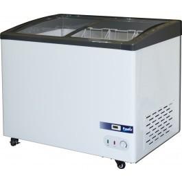--- PRODIS GV1 --- Grande Vista Curved Glass Display Chest Freezers