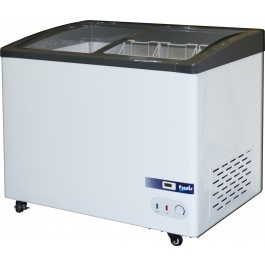 --- PRODIS GV4 --- Grande Vista Curved Glass Display Chest Freezers