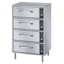Hatco HDW-4 Freestanding Four Drawer Warmer 1