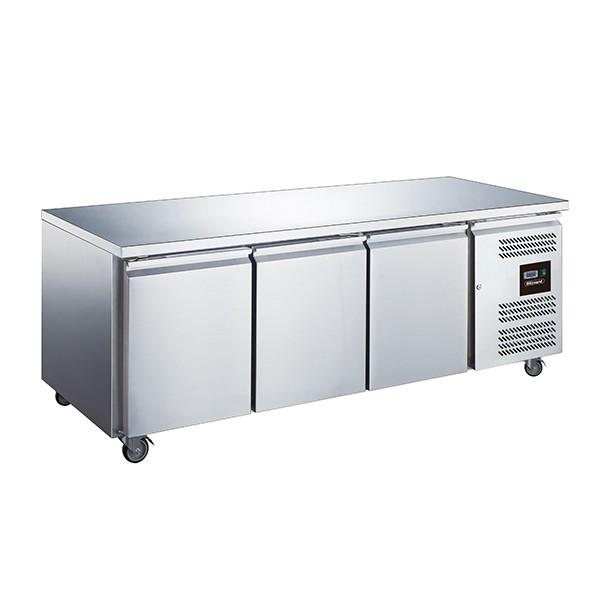 Blizzard LBC3SL Three Door Slimline Counter Freezer without Upstand