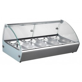 --- BLIZZARD HDC1 --- Heated Counter Top Display with 3 GN Pans