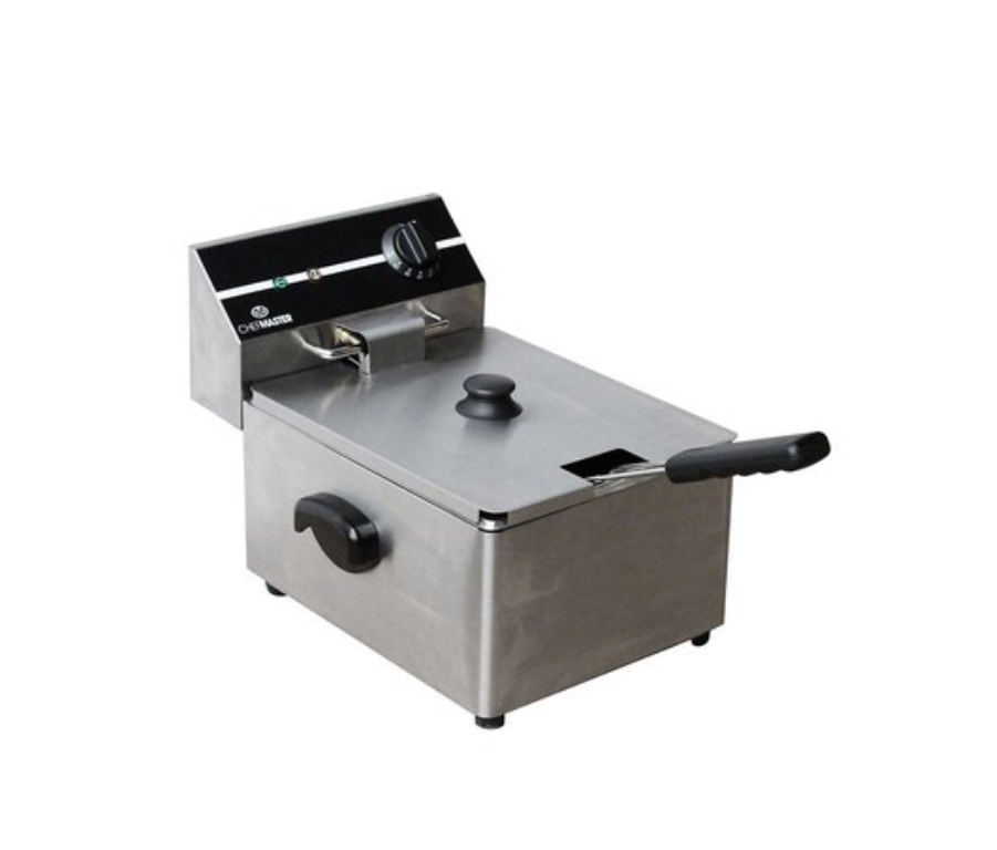 Chefmaster HEA752 Countertop 6 Litre Electric Fryer Single Tank