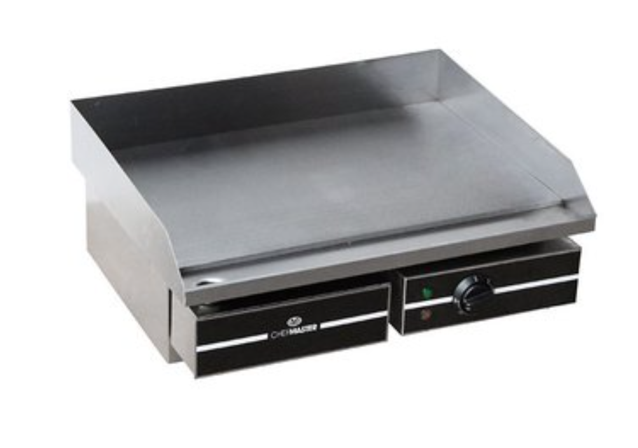 Chefmaster HEA754 Countertop Steel Plate Griddle