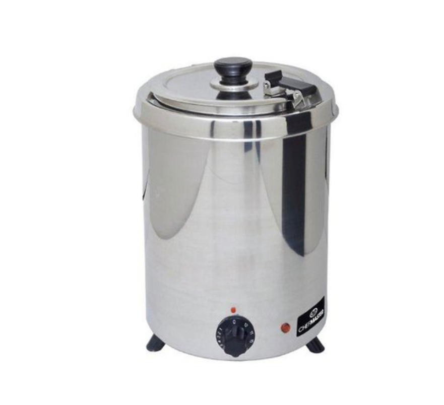 Chefmaster HEA777 Soup Kettle Stainless Steel 6 Litre