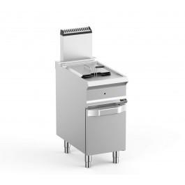 Hobart Ecomax HEFRG74A Single Well Freestanding Gas Fryer - 14 Litres