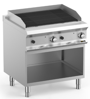 Hobart Ecomax HEPLG78A Lava Rock Chargrill With Independant Burners