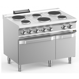 Hobart Ecomax HEPR711FE Six Plate Electric Hob With Electric Oven